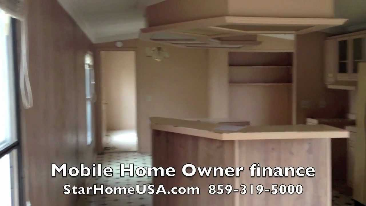 14x70 Mobile home trailer for sale by owner - will finance
