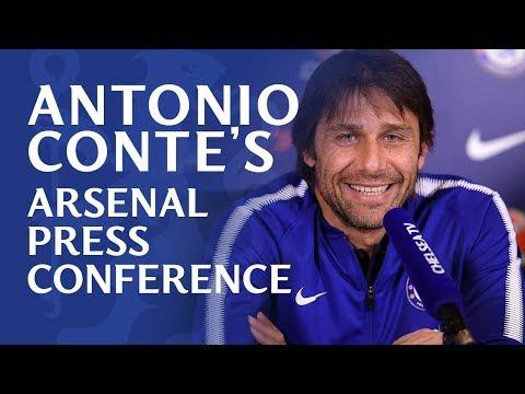 Antonio Conte Press Conference   Chelsea v Arsenal