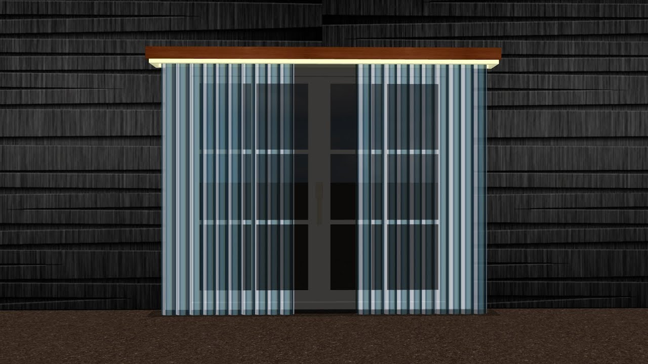 How to make a transparent curtain 3d model in sweet home for Sweet home 3d mobili
