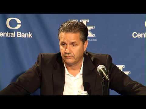Kentucky Wildcats TV: John Calipari Blue-White Postgame