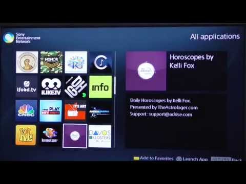 Sony Blu-Ray player apps