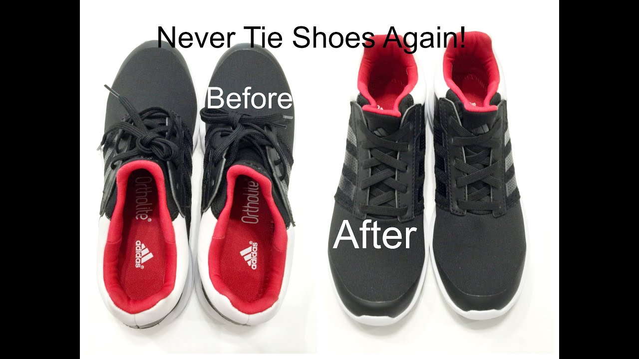 How To Tie Shoes So Laces Don T Show