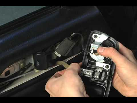 How to Remove Interior Door Handle on a 97-01 Honda Prelude - YouTube
