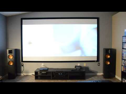 Elite Screens Cinegrey 5D And Benq W1070 In Full Aftern Doovi