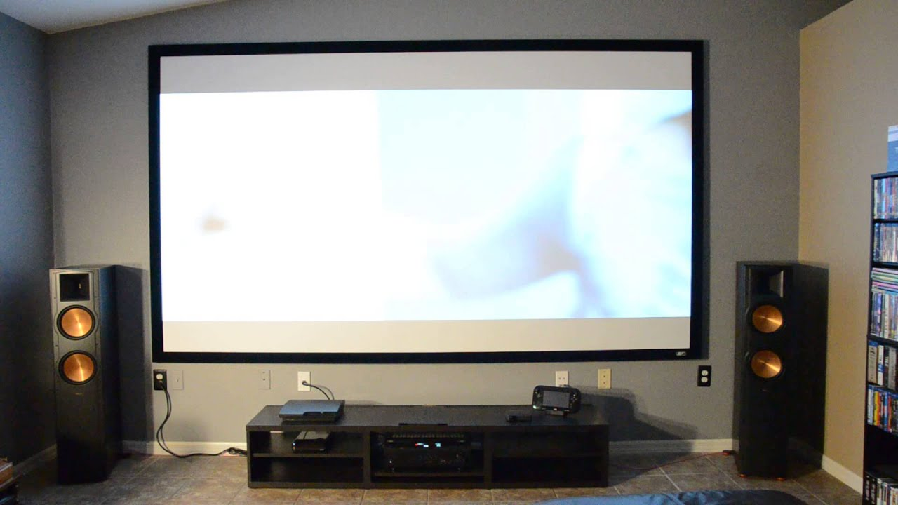 quick video of my living room setup - youtube
