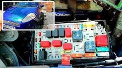 Fiat Grande Punto Sicherung Blinker