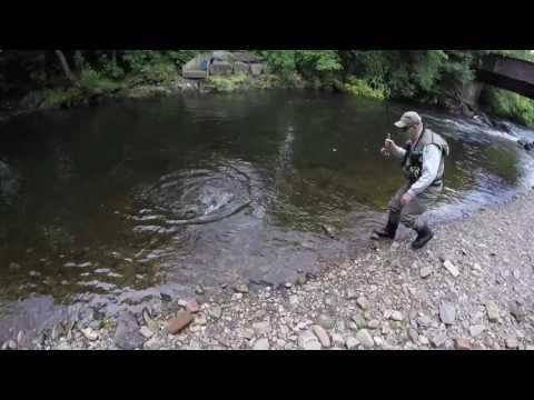 Fishing The River Tawe