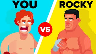 YOU vs ROCKY - How Could You Defeat And Survive Him? (Rocky Movie)