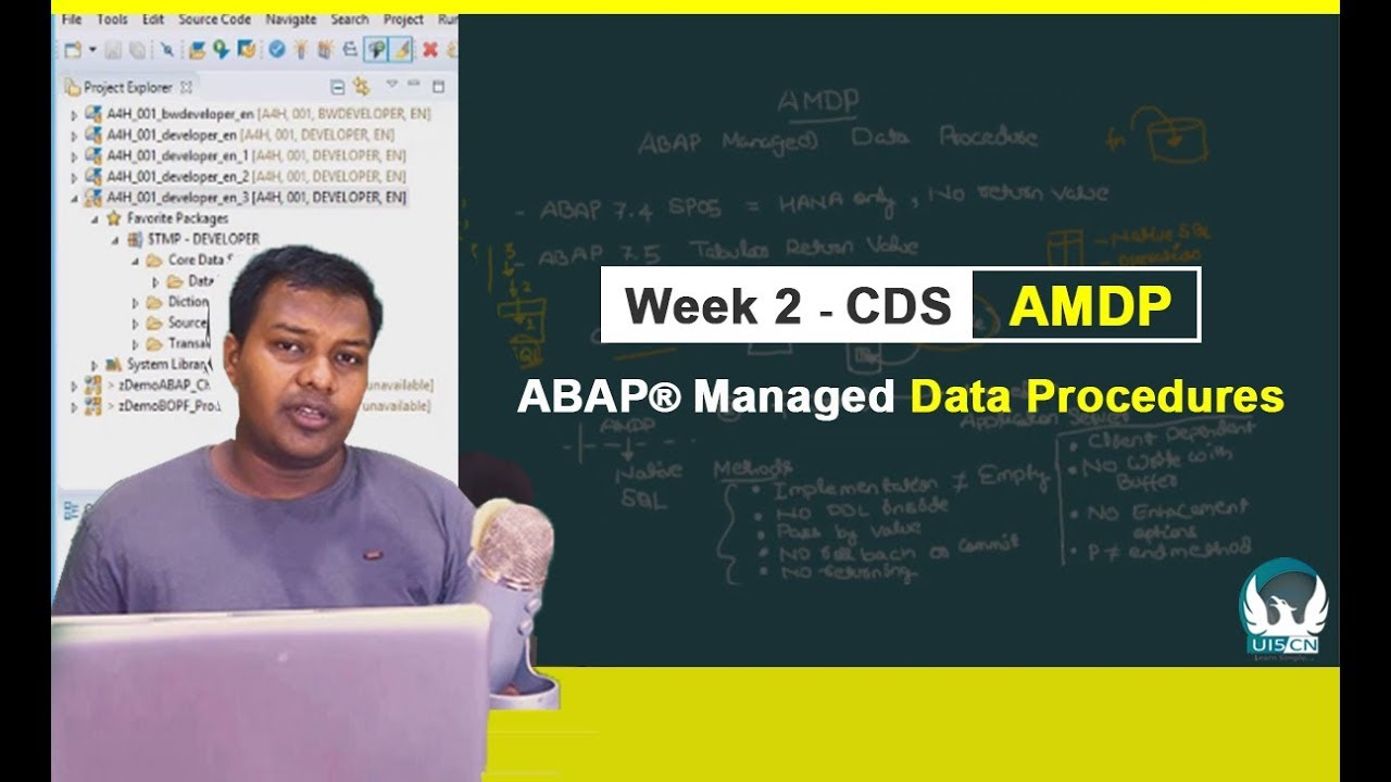 Learn AMDP - ABAP® Managed Data Procedures With CDS Professional  Development Course