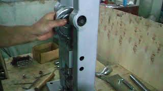 TDP 0 tablet press- how to install upper die