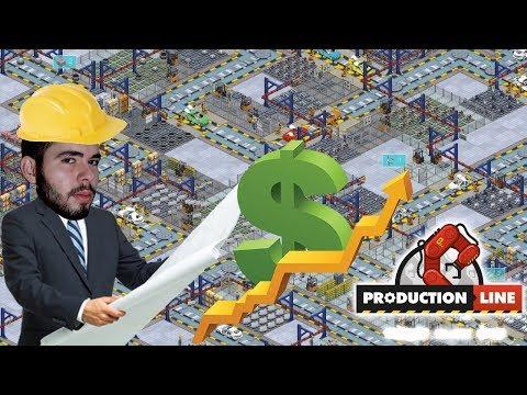 Production Line - VAMOS CONSTRUIR UMA MONTADORA DE AUTOMÓVEIS!!! (Gameplay / PC / PTBR) HD