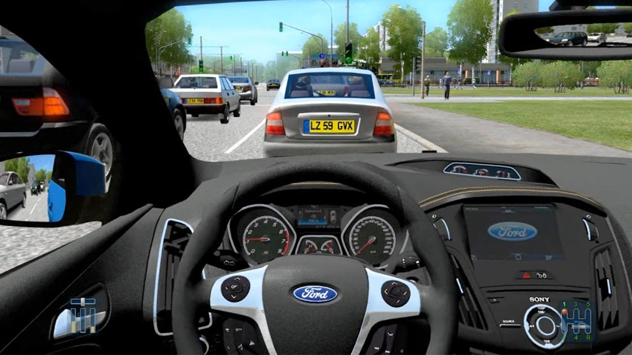 FREE DOWNLOAD City Car Driving - Ford Focus ST MK3 + Download link