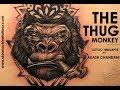 Thug Monkey | Tattoo time-lapse by Akash Chandani | Black & Grey Tattoo