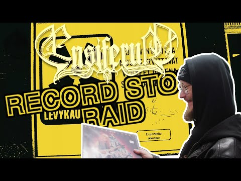 Record Store Raid in Helsinki (with Petri from Ensiferum)