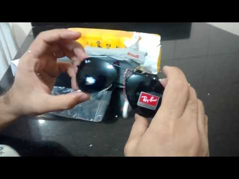Review - Unboxing  02 - ALIEXPRESS - Ray-Ban Aviador - Preto - Review -  Indoxxi Video No Ads c1e9f83162