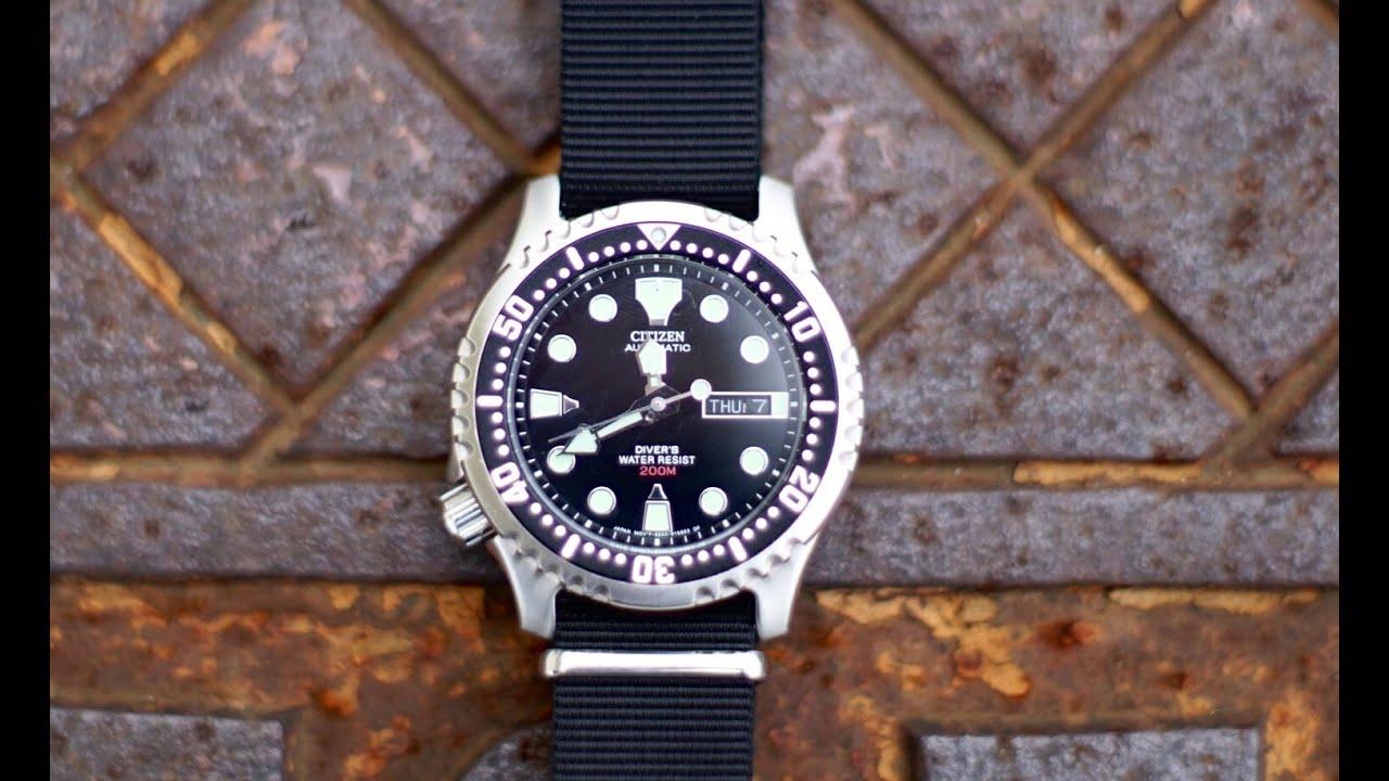 Citizen promaster ny0040 09e automatic dive watch review youtube - Citizen promaster dive watch ...