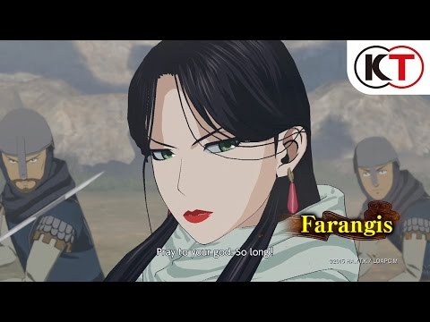 ARSLAN: THE WARRIORS OF LEGEND - CHARACTER TRAILER