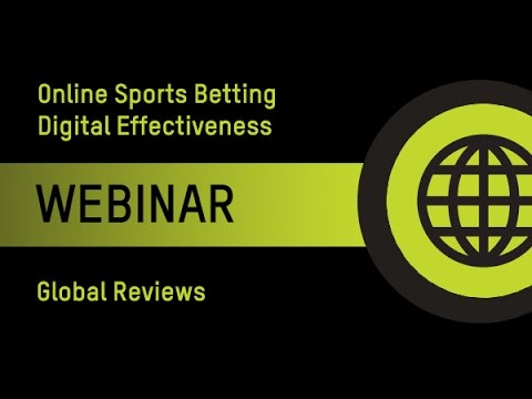 Online Sports Betting Digital Effectiveness Webinar (AU)