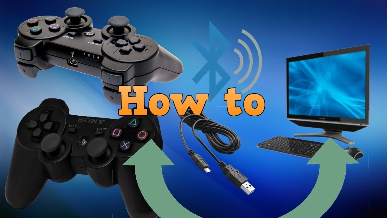 Connect your PS3 controller to PC! Easiest WAY!(No Motioninjoy ...