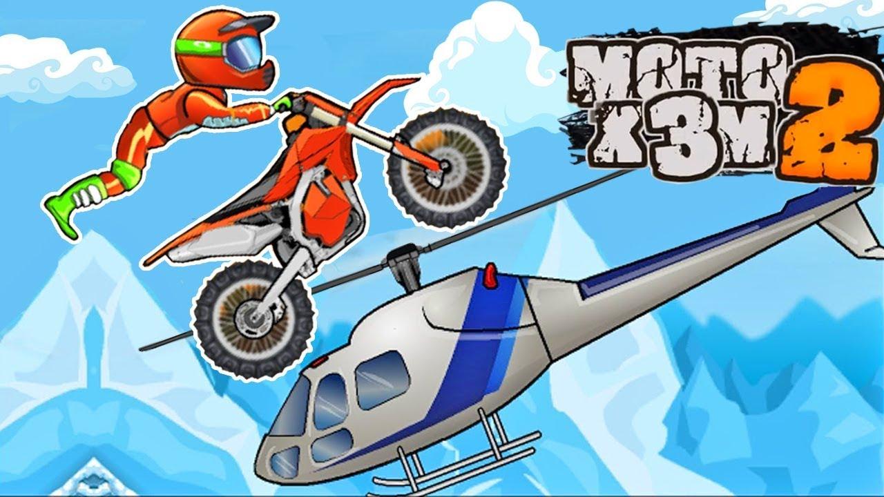 Juego De Motos Moto X3m 2 Gameplay Android Youtube