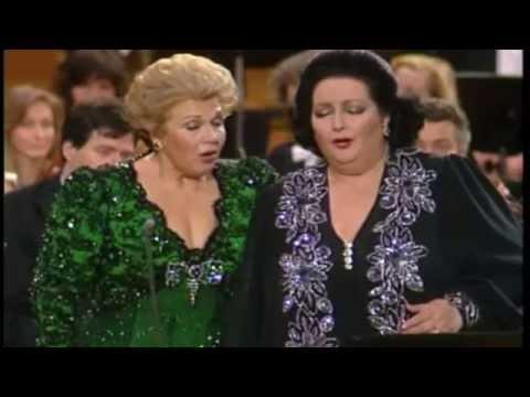 Montserrat Caballé - Marylin Horne - Vivere io non potrò - La Donna del lago - Rossini