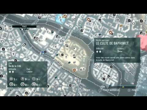 Assassin's Creed Unity : Le coffre de Notre Dame ( dernier coffre ) Ile de la cité [FR] [SNIR]