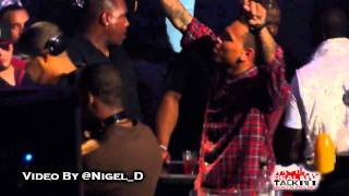 Chris Brown Performs Dueces, Does The Dougie & Dances To MJ & More