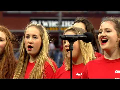 Phillies Game: National Anthem by Gwynedd Mercy Academy High School Chorale