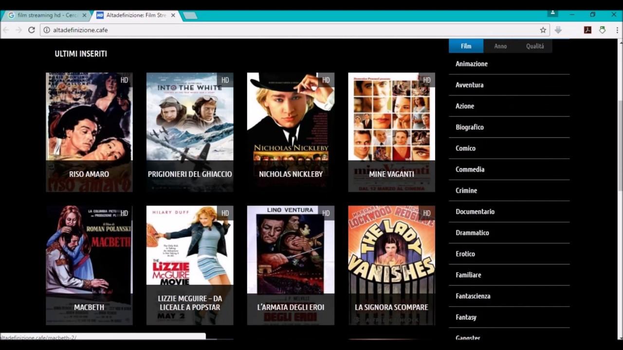 Siti per scaricare film gratis da utorrent