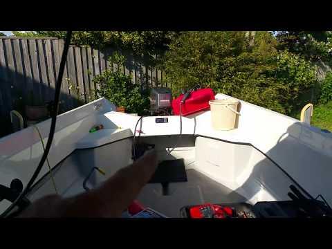 Small boat / fishing boat electrics /solar panels