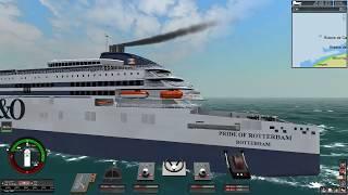 Port of Calais - Dover (Ship Sim Extremes)