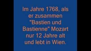 Bastien et Bastienne (Mozart) Solistes petits chanteurs de Vincennes (1)