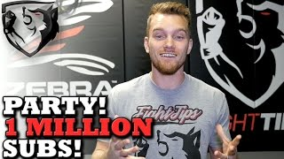 1 Million Subscriber fightTIPS Party: Must RSVP!