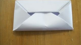 How To Make An Envelope Without Glue Or Tape (HD)