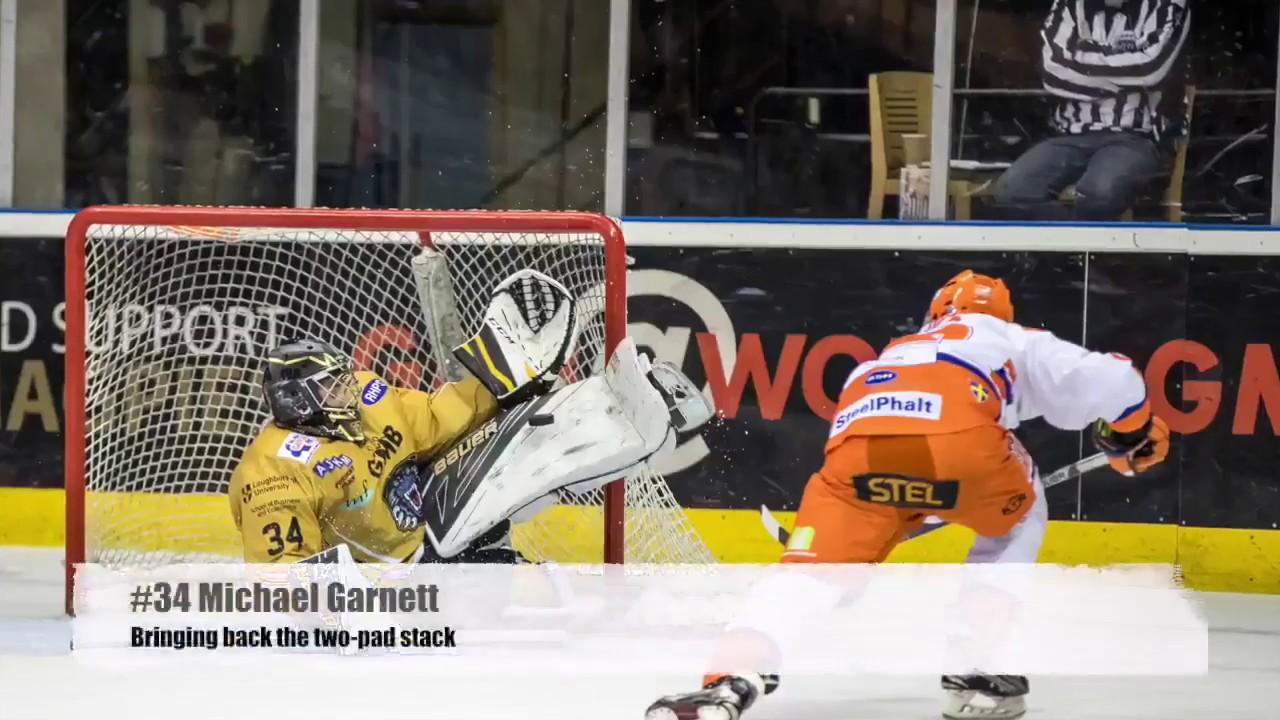 Michael Garnett: a biography of hockey goalkeeper 12