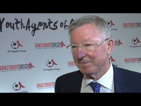 Interview With Sir Alex Ferguson At The 2016 Grassroots Soccer Gala