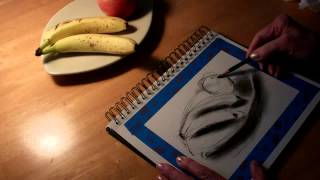 Charcoal Pencil Drawing