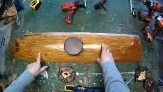 How To Make A Barn Wood Hat Rack