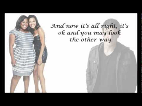 Glee Cast- Stayin' Alive (with lyrics)