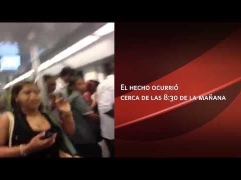video del atentado terrorista en el metro de santo domingo R.D 2014