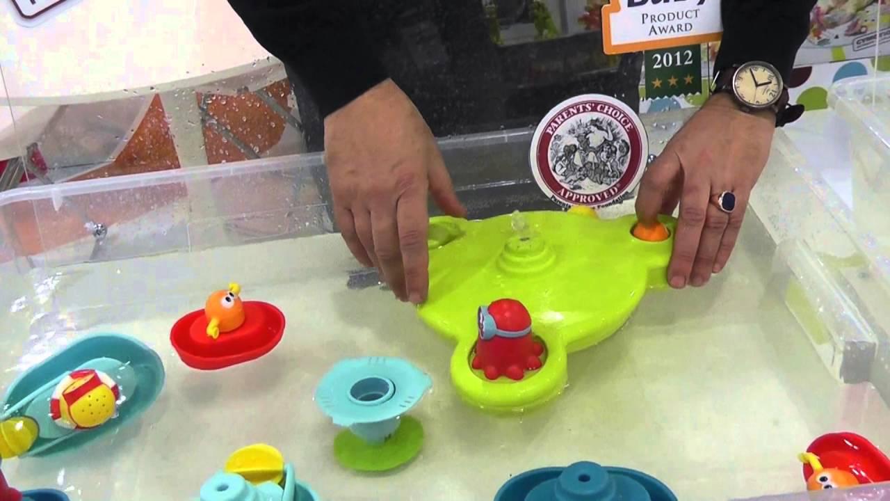 Yookidoo Baby Bath Toys Youtube