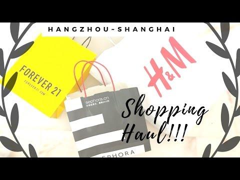Shanghai-Hangzhou Shopping Trip haul!!!
