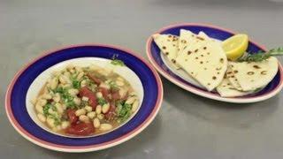 Greek White Bean Salad : Greek Recipes
