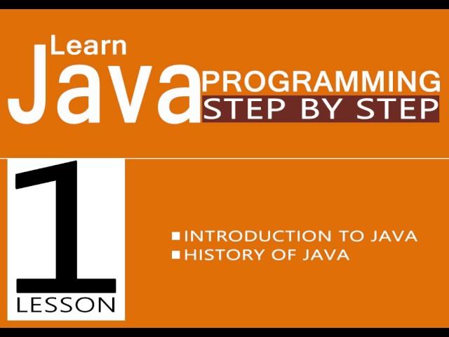 اتعلم Java Programming خطوة بخطوة مع درش