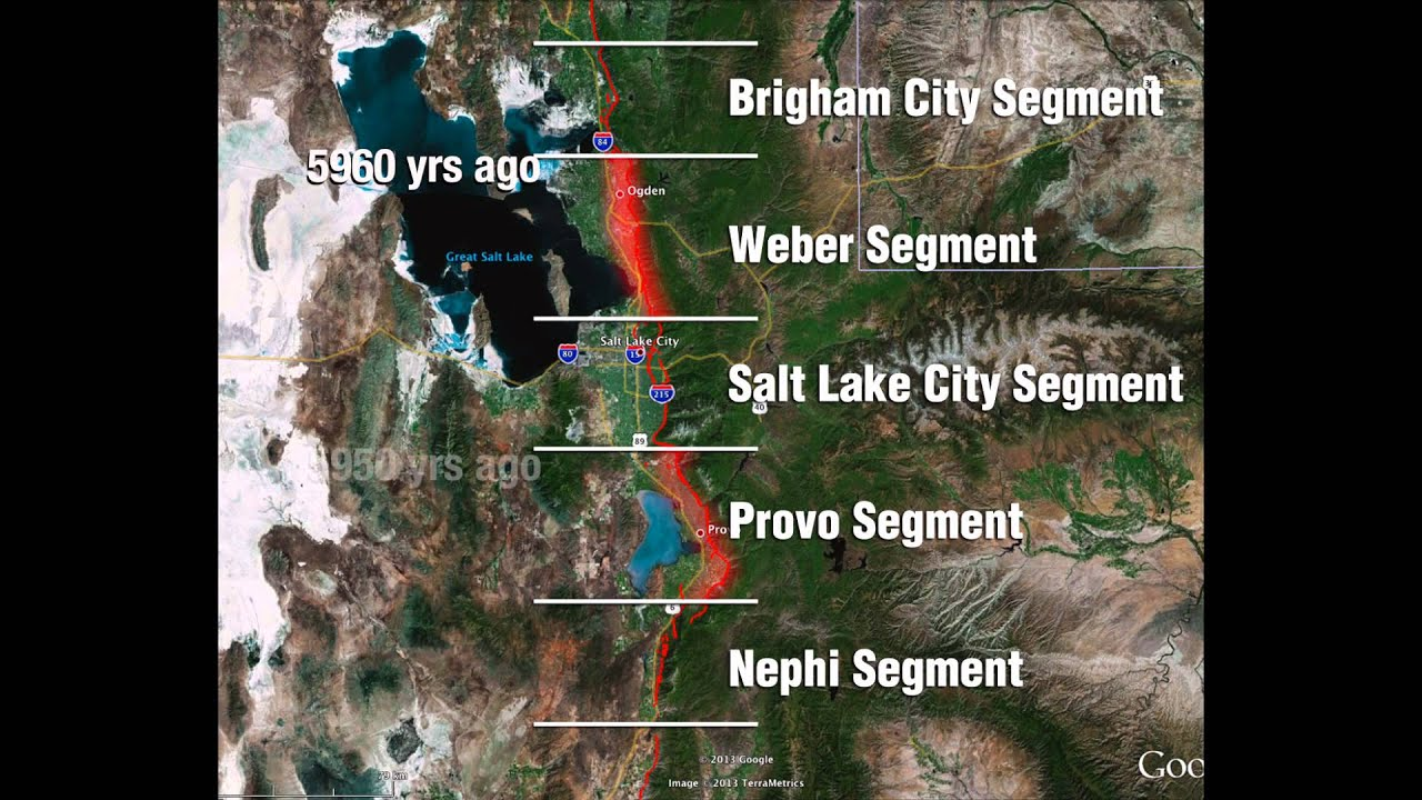 exposing the wasatch fault a source of large earthquakes along the wasatch front youtube