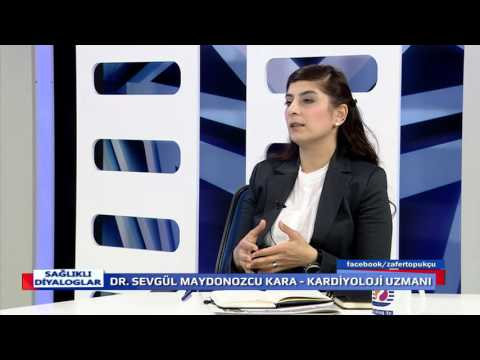 SAĞLIKLI DİYALOGLAR  24 03 2016  SEVGÜL MAYDONOZCU KARA - PROF. DR. ZAFER TOPUKÇU