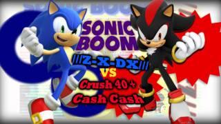 ///Z-X-DX/// V.S. Crush 40 and Cash Cash- Sonic BOOM!