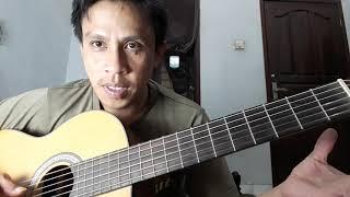 Cara Memainkan Melodi Gitar Clean Bandit Baby | Channel Amburadul