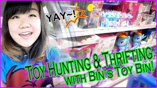 TOY HUNTING & THRIFTING with Bin's Toy Bin - My Little Pony, Lego, Paw Patrol, Disney and MORE!