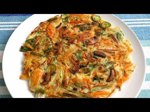 Vegetable Pancake (Yachaejeon: 야채전)